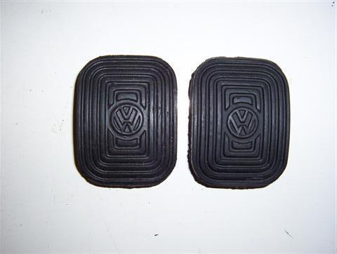 PEDALE GOMME Freno /& Frizione VW Beetle 1958-1979 /& tipo 2 1955-1967 Raffreddato Aria