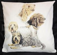 Petit Basset Griffon Venden Group Dog Cotton Cushion Cover - Perfect Gift