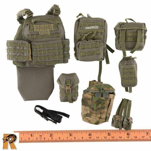 MVD SOBR Lynx 8th AE-Débardeur avec pochettes-échelle 1//6 Damtoys Action Figures
