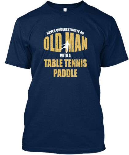 Tennis De Table Joueur drôle Sports cadeaux-jamais Standard Unisexe T-Shirt