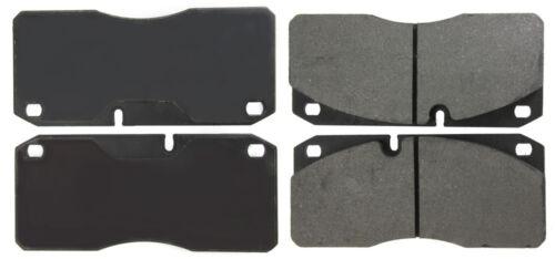 Disc Brake Pad Set-Premium Semi-Met Pads with Shims Front,Rear Centric 300.10270