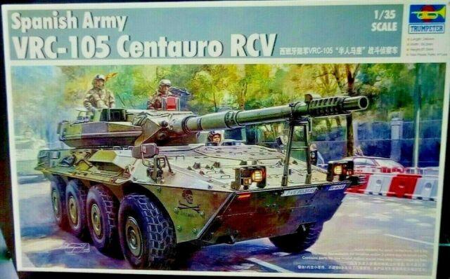 Spanish Army VRC-105 Centauro RCV 00388 scala 1/35 Trumpeter