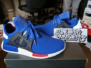 super popular 83872 28b25 Details about Adidas Originals NMD_XR1 Nomad Boost Mystery Blue Vivid Red  White Black AC7185