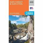 Glen Cassley Oykel 2015e Ordnance Survey Sheet Map Folded 9780319246832