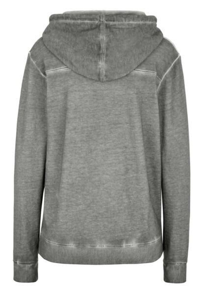 Lonsdale East Mey Ladies Hooded Sweatshirt Light Grey  Kapuzenpullover Hoodie