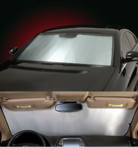SILVER-Sun-Shade-for-windshield-CUSTOM-Precision-Cut-For-Kia