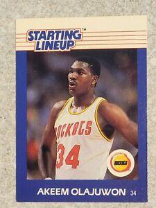 1988 Starting Lineup SLU Basketball Akeem Olajuwon - Card