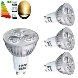 pretty nice e1d66 09544 4x GU10 4W LED Spotlight Light Bulbs Downlight Warm White ...