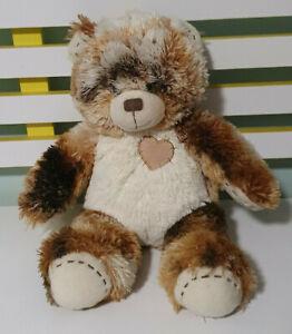 BUILD-A-BEAR-TEDDY-BEAR-BROWN-WITH-LOVEHEART-40CM