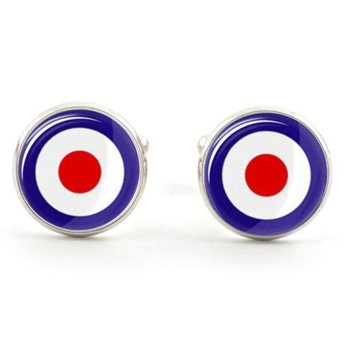 RAF Mod Target Novedad Gemelos Soul del norte para Hombre Divertido Regalo Bullseye 70s Mods