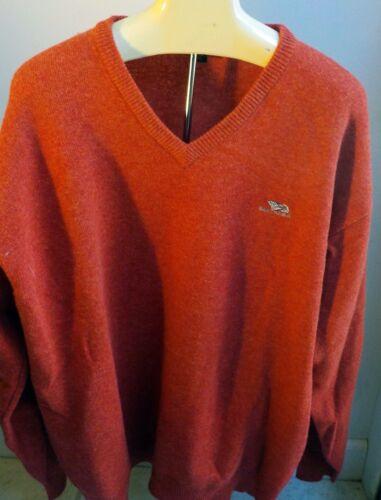 """GANT Handframed 100% Lambswool V-neck Sweater """"Gan"""