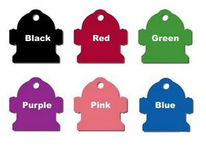 Custom-Laser-Engraved-Fire-Hydrant-Shape-Pet-Tags-6-Colors-Anodized-Aluminum