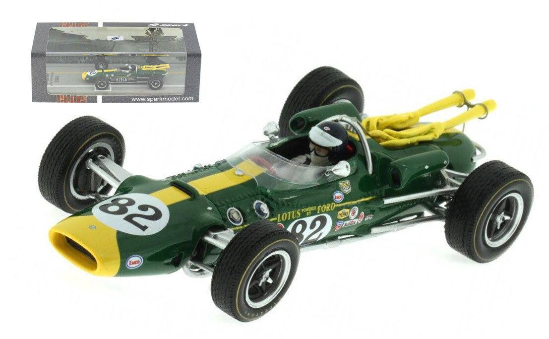 tiempo libre Spark 43in65 Lotus 38  82 ganador ganador ganador de Indy 500 1965-Jim Clark  Escala  suministro de productos de calidad