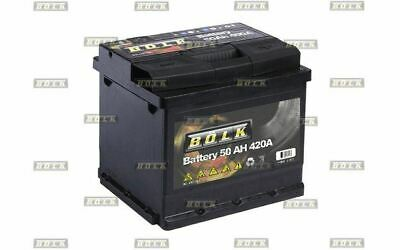 BOLK Batterie de démarrage 50ah 420A pour RENAULT TWINGO