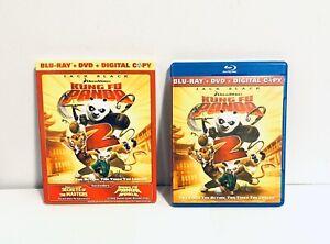 Dreamworks Kung Fu Panda 2 Blue Ray Digital Copy Dvd Ebay