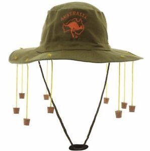 La imagen se está cargando Adulto-Australiano-Sombrero -con-Corchos-Disfraz-Hombre-Mujer- fa0b35e0ed1