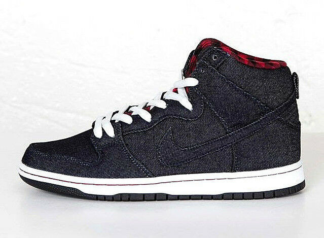 Nike Dunk High Premium SB Navy White Mens Skateboarding Shoes Sneaker  313171-441 9.5  088140151066