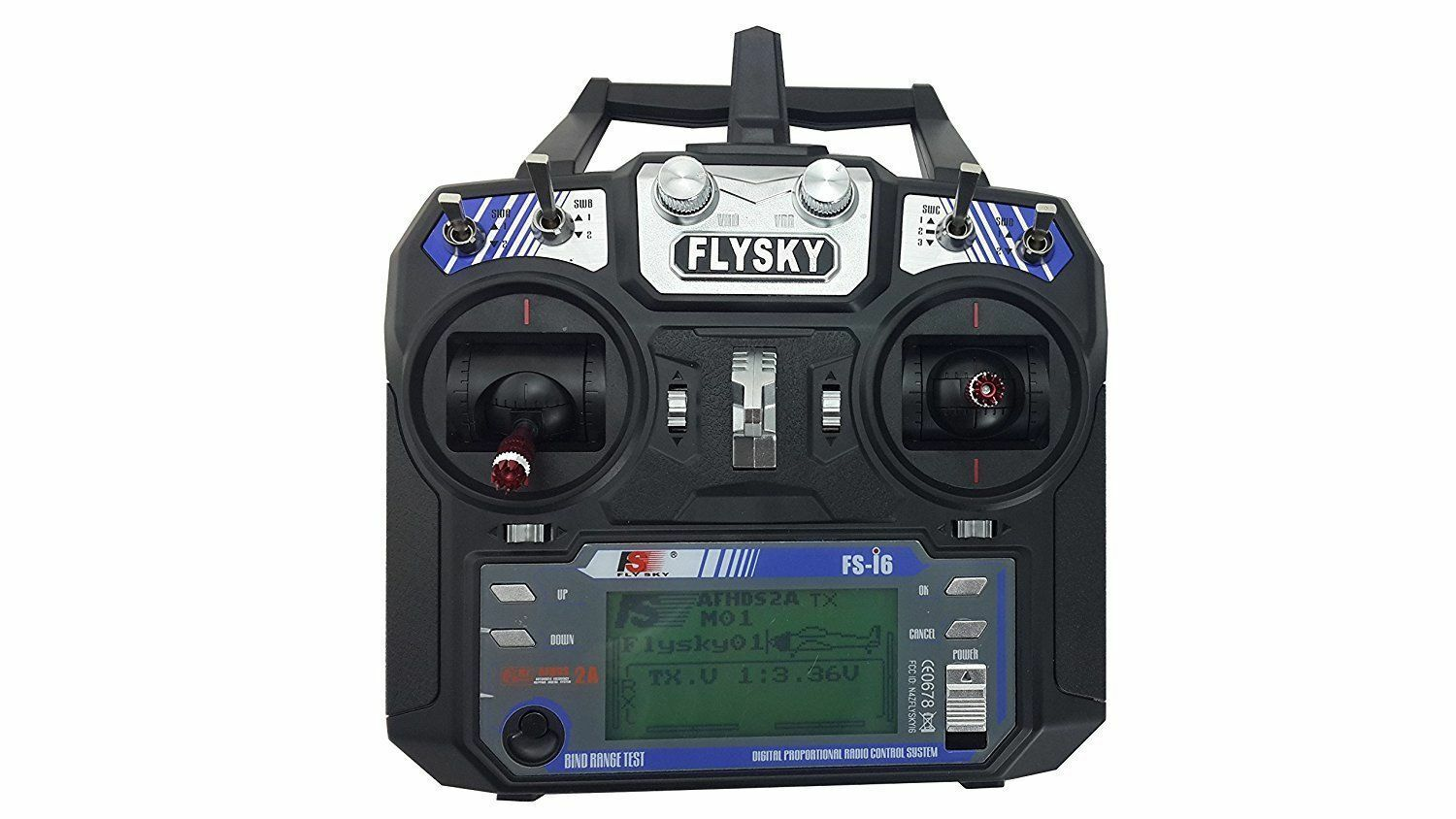 2.4 GHz Transmitter Receiver Flysky FS-i6 Radio Controller for RC Drone Car Boat