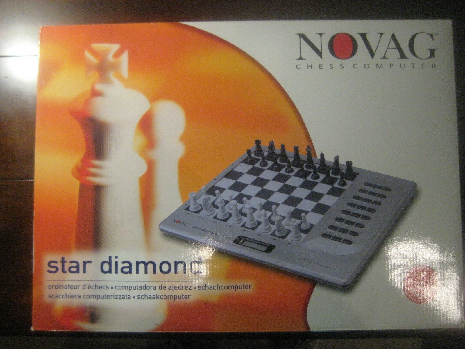 Novag Star Diamond  Chess ordinateur électronique, très forte, Schachcomputer, Clean  magasin fashional à vendre