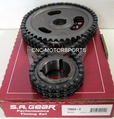 GEAR 73024-3 Chrysler 318 340 360 Double Roller Engine Timing Set S.A