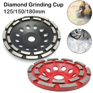 125-150-180mm-Diamant-Schleiftopf-Beton-Granit-plateaux-Support-Disque-abrasif-FLEX