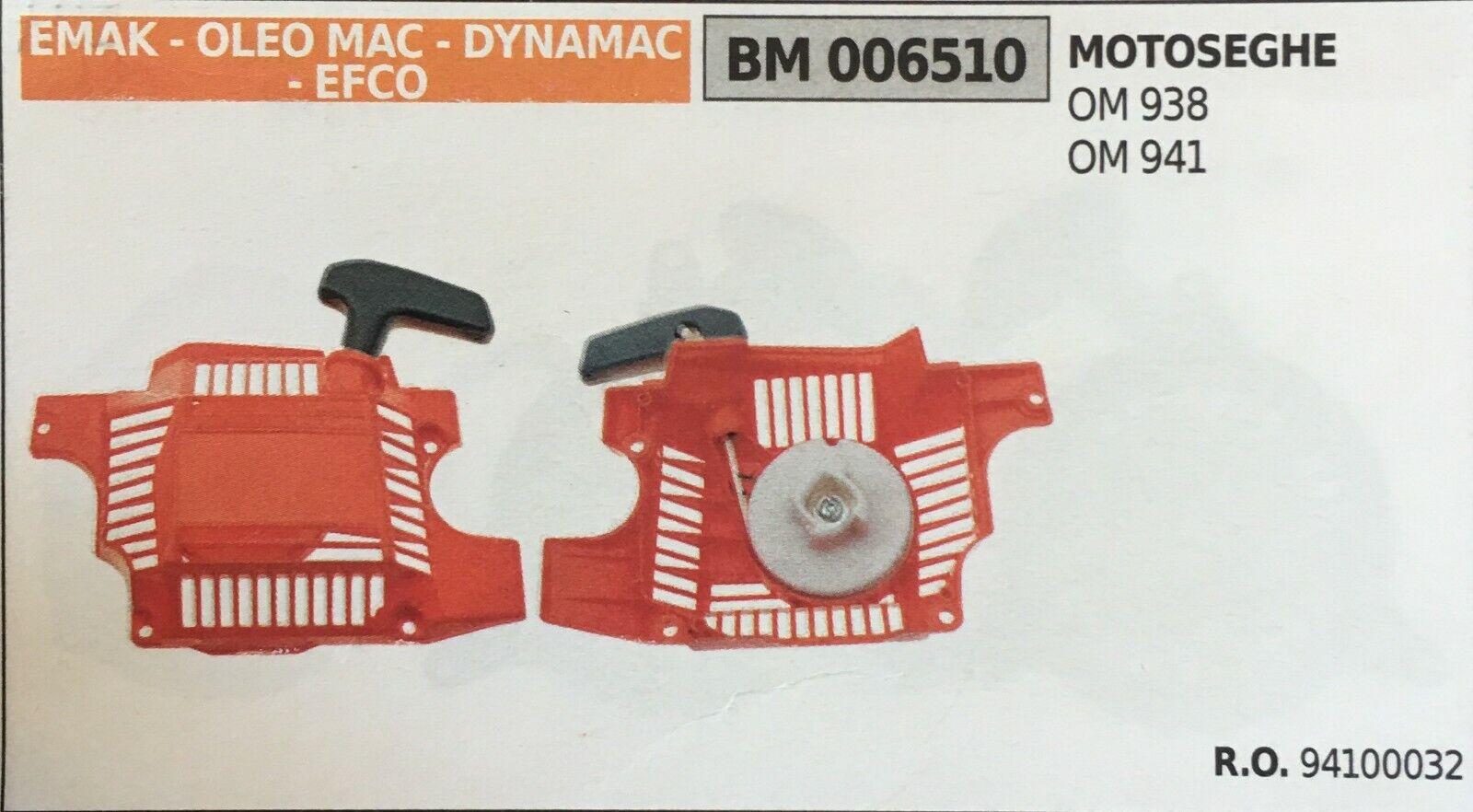 Arrancador de Completo Brumar Emak - Oleo Mac -Dynamac- Efco BM006510