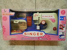 Singer Toy Sewing Machine Chainstitch Toy by Home Play