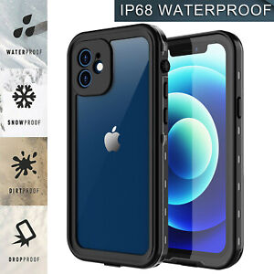 For Apple iPhone 12/12 Pro Case Cover Shockproof Waterproof w/ Screen Protector