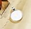 Retro Redondo Cabujón Configuración bandejas de piedras preciosas de Aleación Colgante base 25MM Nuevo 20 un