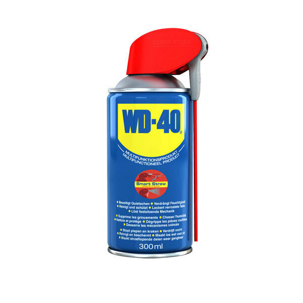 WD-40 Spray Multi-Usages 300ml Smart-Straw Huile Multi-Fonctions, de Contact