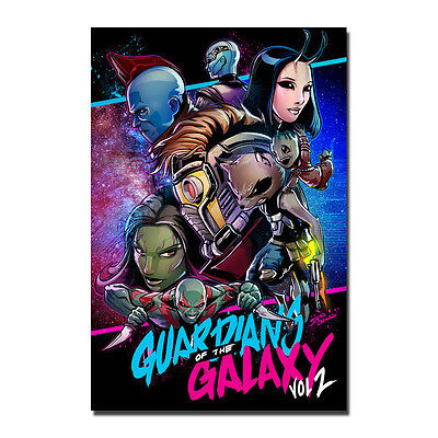 Guardians of The Galaxy Vol 2 Baby Groot Movie Art Silk Poster 12x18inch J120