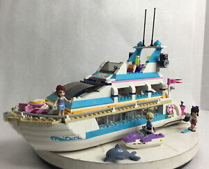 LEGO Friends Dolphin Cruiser (41015) 99.5% complete no box/Instructions