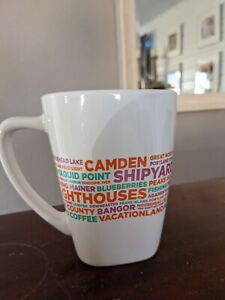 Dunkin Donuts Maine Destinations Ceramic Coffee Mug Cup 2016