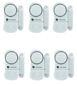 6er Set Türalarm Fensteralarm Einbruchschutz Fenstersicherung Smartwares Sc07/3 Reinigen Der MundhöHle. Heimwerker