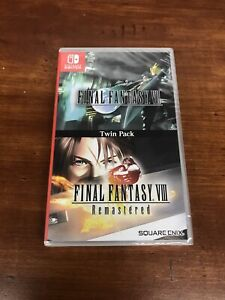 Final-Fantasy-VII-amp-VIII-Remastered-Twin-Pack-Nintendo-Switch-NEW-SEALED