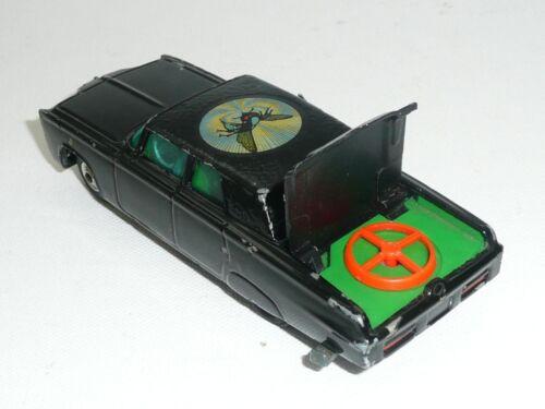 Corgi 268 Green Hornet  Black Beauty Reproduction  Red Rear Spinner