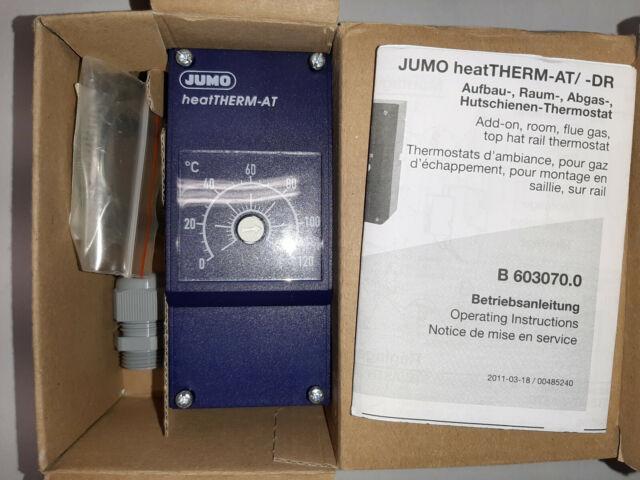 Einbau Thermostat 0-120 Grad Celsius Neuwertig