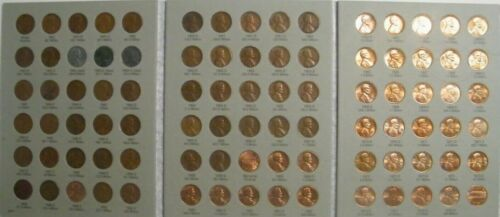 Complete set 1941-2019 PDS Lincoln Wheat /& Memorial Pennies Set G-BU 188 coins