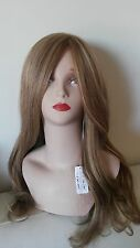 100% Human European Hair Wig Dark Golden Blonde Medium size