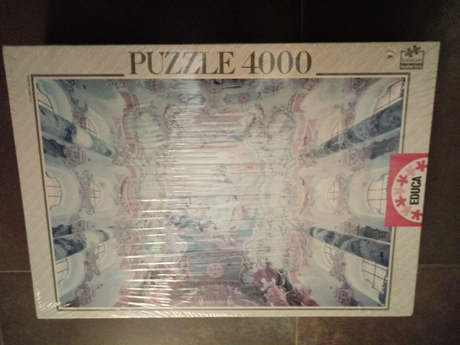 PUZZLE 4000 EDUCA - LA WIESKIRCHE - NUEVO EN CAJA  136 X 96 CM  marchi di moda