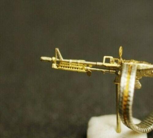 1//72 Mini World 7245c USA M60 Machine Gun Mount Variant Plastic Model Kit