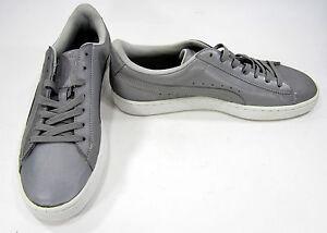 00936cfbd6fc Image is loading Puma-Shoes-Basket-Reflective-Silver-Metallic-Black-Grey-