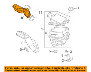 JAGUAR OEM 04-05 XJ8 4.2L-V8 Air Cleaner Intake-Duct Hose Tube C2C25837
