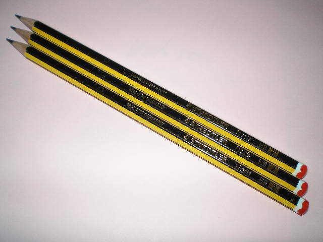 3x STAEDTLER Noris 120-2 HB Bleistifte Bleistift bruchfest 100% PEFC NEU & OVP