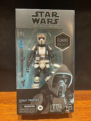 Star Wars Black Series Scout Trooper GameStop Exclusive In Stock!