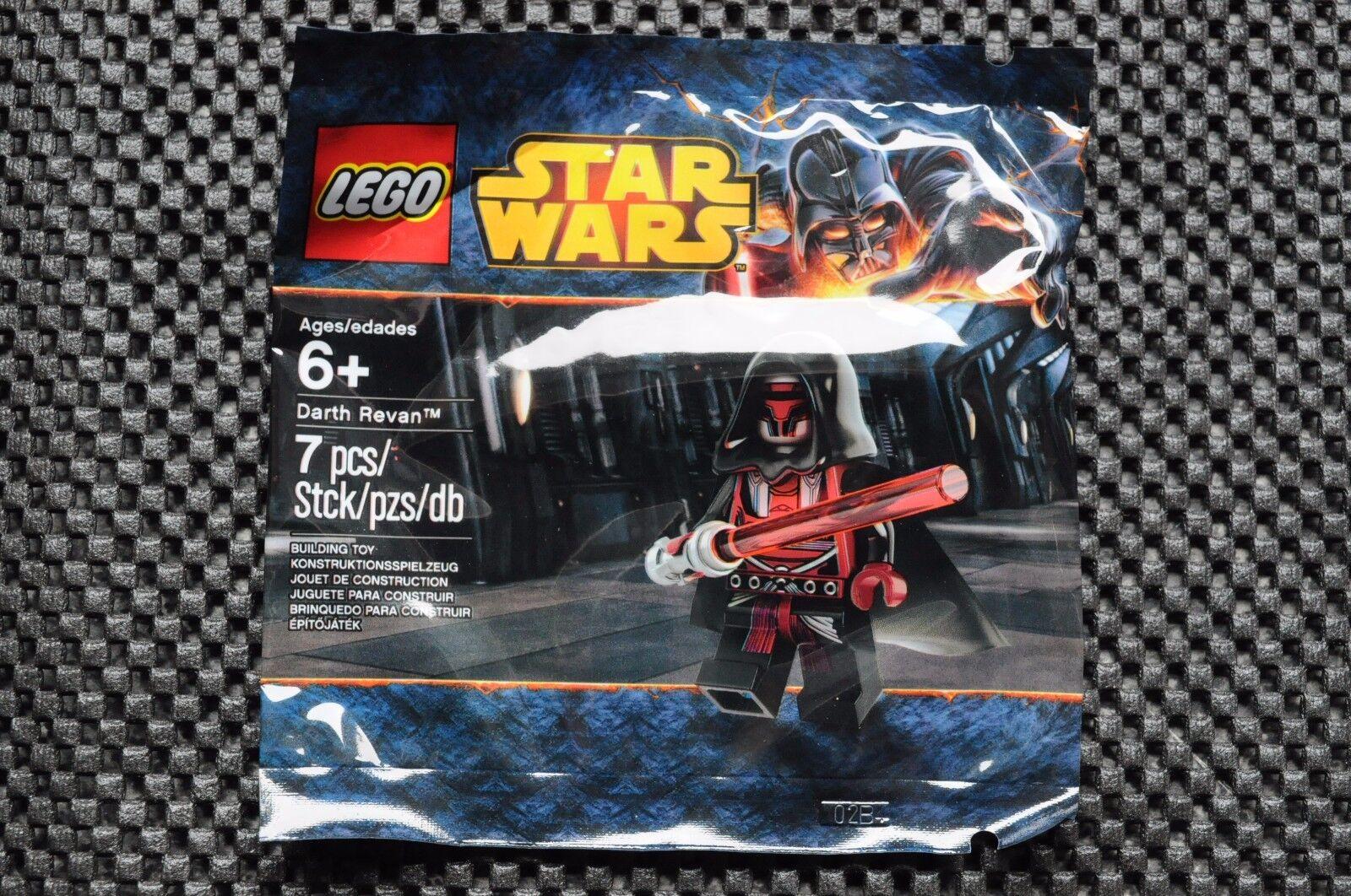 LEGO Star Wars Darth Revan Minifigure 5002123 Polybag RARE