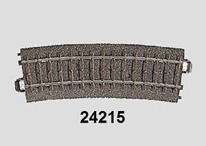 Maerklin-H0-24215-C-Gleis-gebogen-R2-437-5-mm-15-NEU