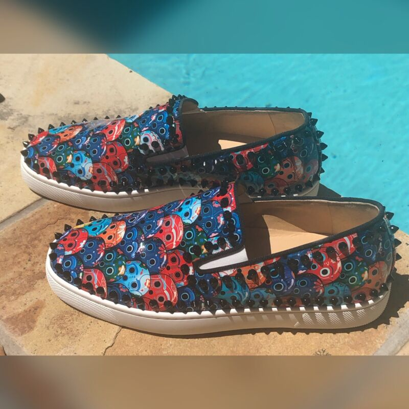 Christian Louboutin roller boat sneakers size 6