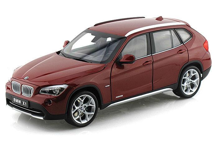 1 18 Kyosho BMW X1 xDrive 28i E84 Vermillion rosso Diecast Model Car rosso 08791VR
