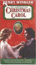 An American Christmas Carol VHS New Henry Winkler